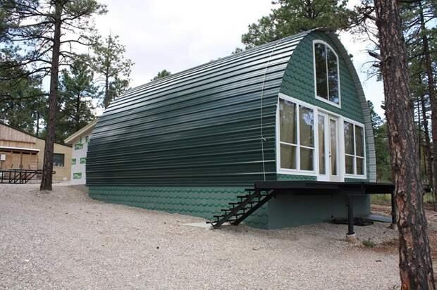Этот дом - крошечный, но но стоит меньше $1000. Вот какой он внутри