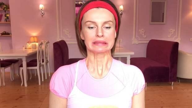 упражнения для мышц лица