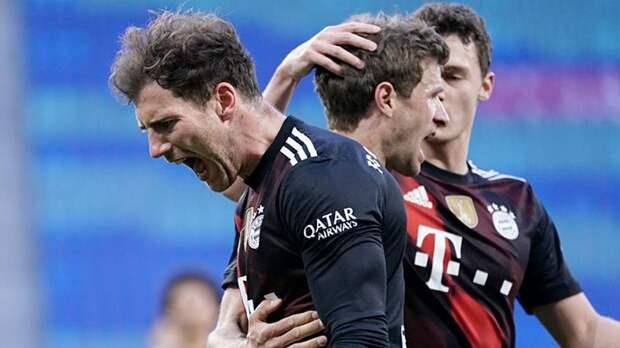 «Бавария» выиграла у «РБ Лейпциг» и оторвалась от преследователя на 7 очков