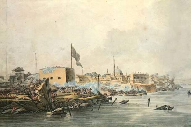 24 декабря – День взятия турецкой крепости Измаил русскими войсками