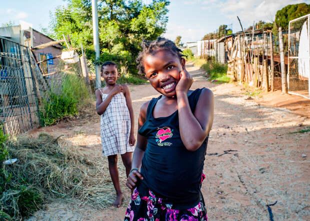 Африканская деревенька