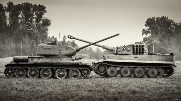 Дуэль Т-34 и пантеры на курской дуге. такого в танковой истории больше не было вов, дуэль, история