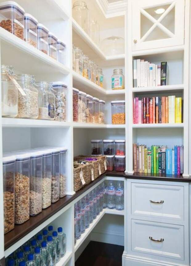Удобное хранение продуктов на кухне: фото идеи 09
