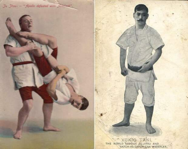 Маленький японец в Лондоне вырубил всех здоровых английских борцов и боксеров