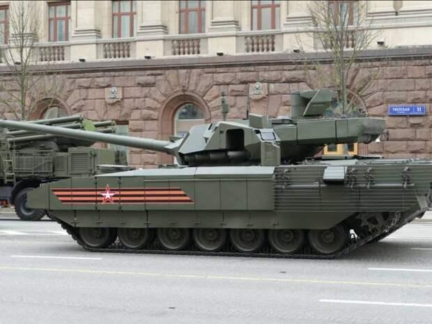 Беспилотный режим танка Т-14 «Армата» работает безупречно
