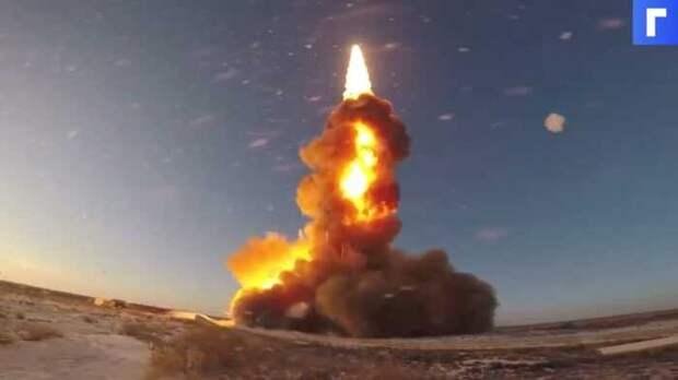 Российская ракета разорвала шахту во время испытательного пуска