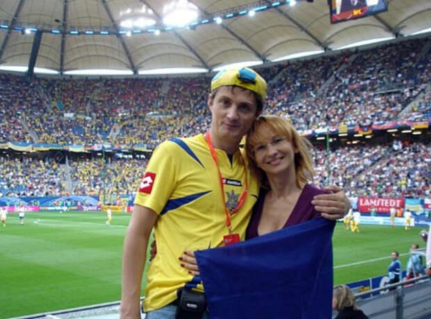 Игорь Кондратюк с женой Александрой