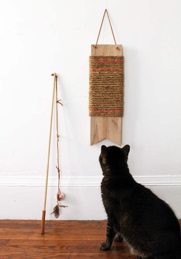 Делаем игрушку для кошки