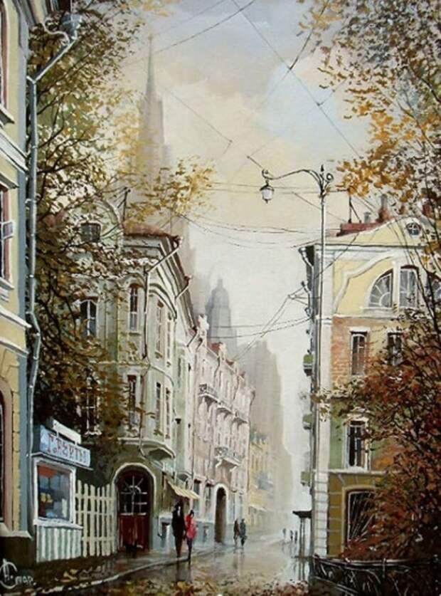 Осень. Автор: Александр Стародубов.