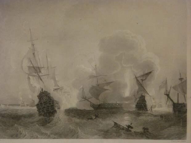 Французские корсары атакуют вражеские корабли - Великие крейсерские войны. Франция против Аугсбургской лиги   Военно-исторический портал Warspot.ru