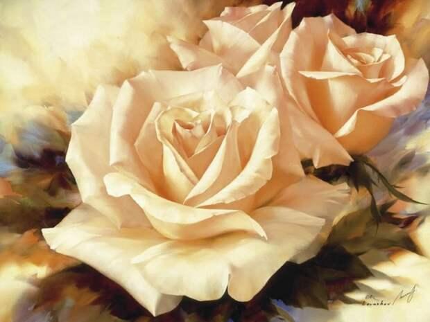 Шикарные цветы Игоря Левашова