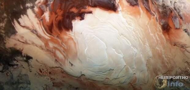 Под поверхностью Марса найдены жидкие озёра