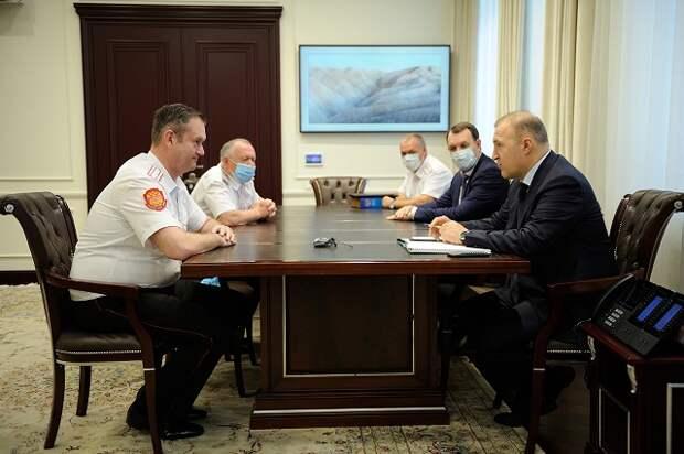 Глава Адыгеи провел рабочую встречу с вице-губернатором Краснодарского края