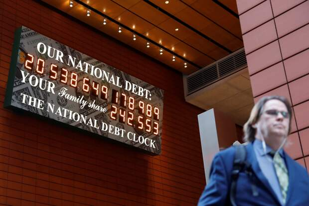 Пандемия опустошает американскую казну - США рассчитывают на рекордную продажу госдолга