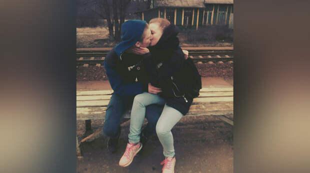 Погибший молодой человек и его девушка, которая через месяц родит ребёнка. Фото © ВКонтакте.