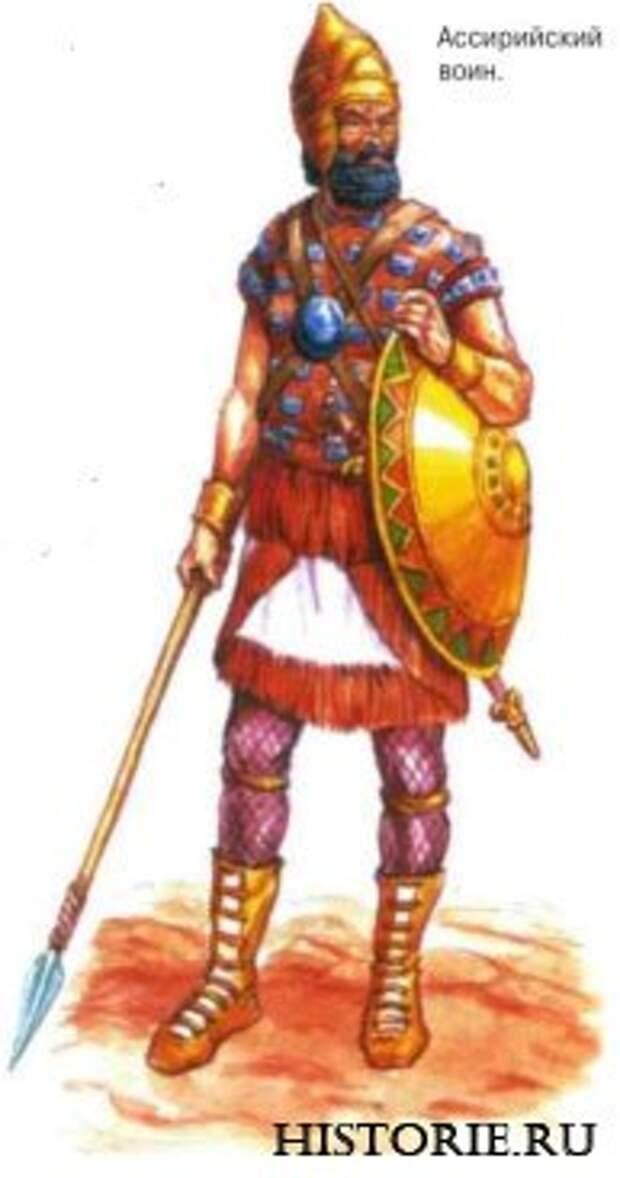 Ассирийский воин