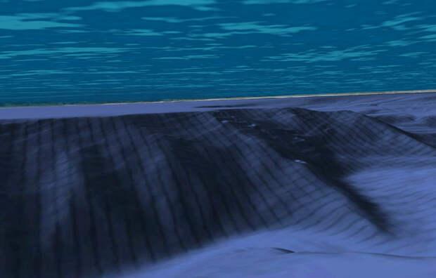 На дне океана обнаружены горы с гигантской разметкой