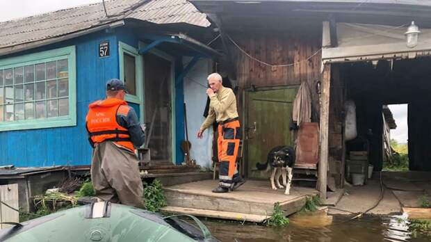 На Дальнем Востоке остаются подтопленными 84 населённых пункта