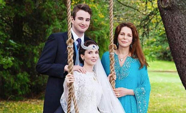Опубликованы новые фото со свадьбы сестры принцессы Хайи и дочери королевы Иордании Нур
