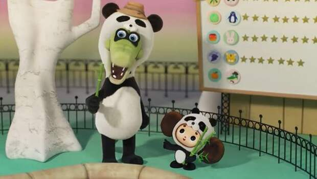 Японцы сняли мультфильм про Чебурашку