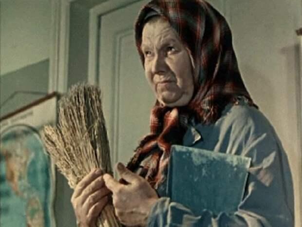 Уборщица тётя Нина