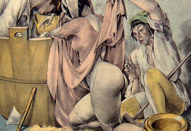 Итальянский иллюстратор начала 20 века, который точно знал, что такое эротика