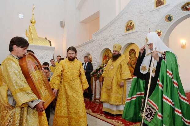 Патриарх Кирилл. Фото: Сергей Власов (официальный сайт Московского патриархата)