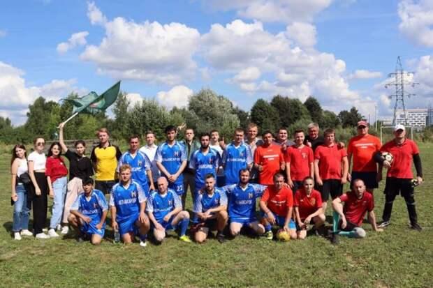 На восстановленном стадионе на Мелькисаровской прошёл первый чемпионат по футболу