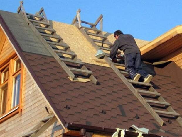 Картинки по запросу Сделай сам: ремонт крыши