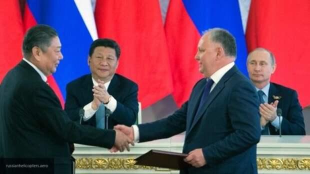 Сатановский сообщил, что Россия никогда не будет дружить с США против Китая