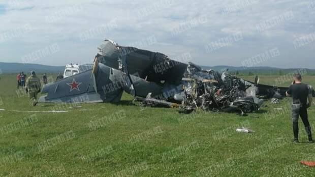 Экипаж рухнувшего вКузбассе самолета сообщал оботказе двигателя