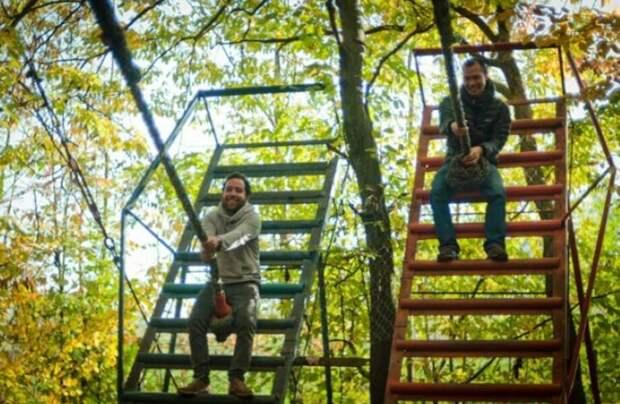 Как итальянец в одиночку построил парк аттракционов в лесу
