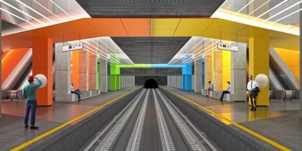 Собянин провел технический пуск первого участка Некрасовской линии метро/ Фото mos.ru