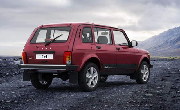 Обновленная Lada 4x4: изменится не только салон, но и внешность