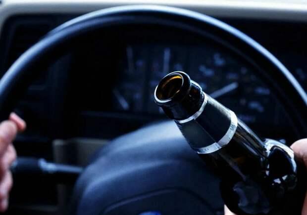 Тверские водители продолжают садиться за руль пьяными