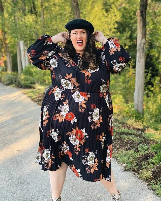 Модные платья для полных женщин: 10 безупречных моделей на осень 2020