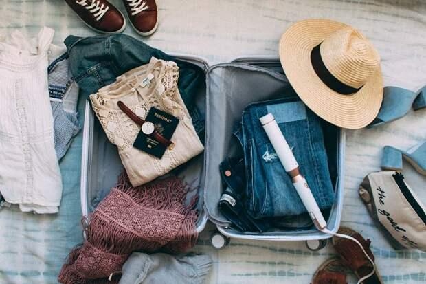 Какие вещи нужно взять с собой, отправляясь в путешествие