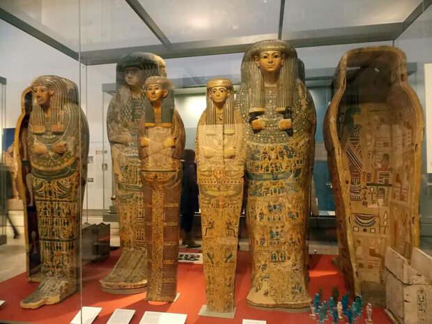 Часть Египетской коллекции Британского музея. Источник изоражения: guruturizma.ru