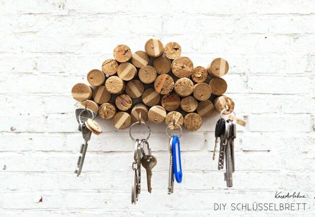 Органайзер для ключей (Diy)