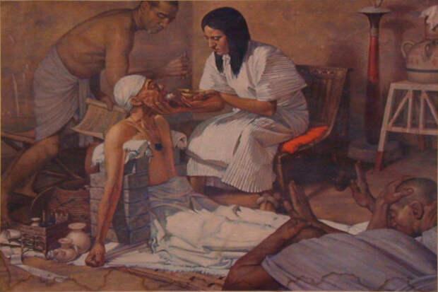 Медицина в древности у разных народов