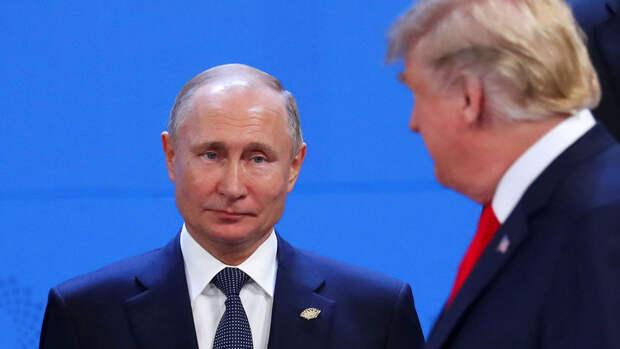 Трамп в очередной раз заявил о своей симпатии к Путину