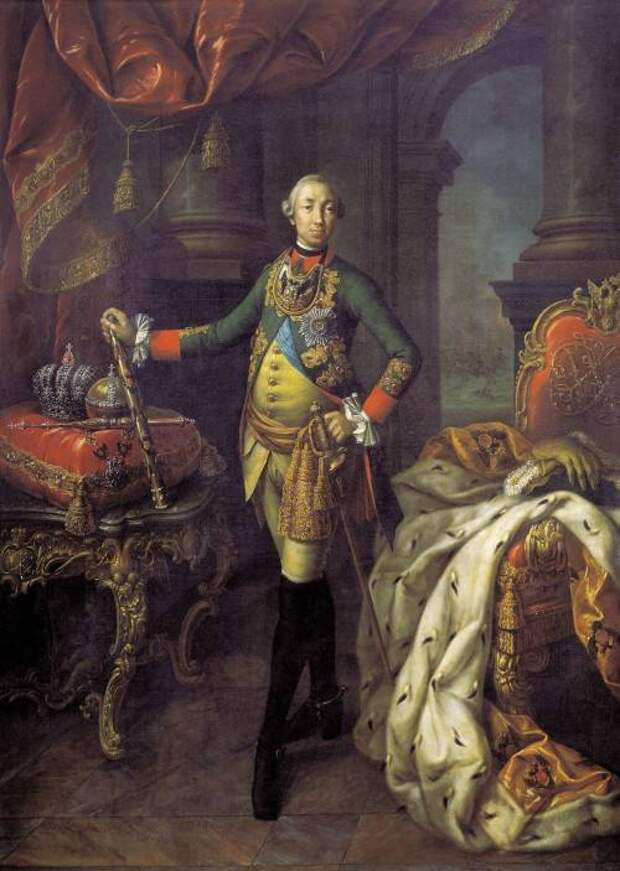 Петерштадт. Брошенная игрушка Петра III