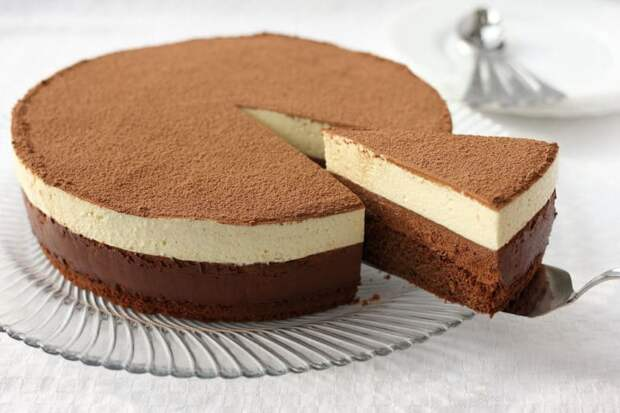 Торт Шоколадный дуэт