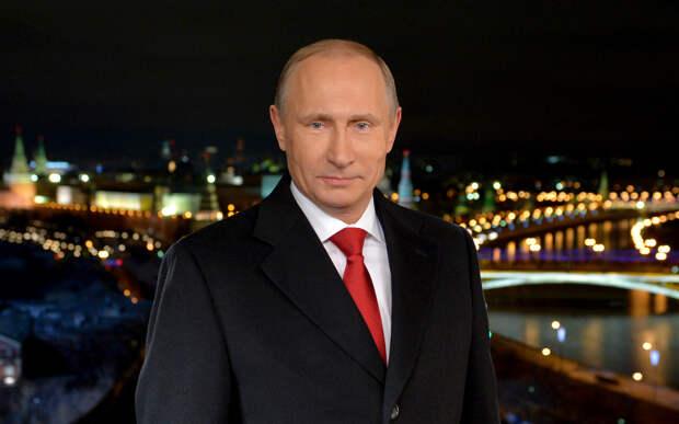 Путин выступил с самым длинным новогодним поздравлением