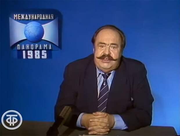 Что показывали по телевизору 35 лет назад