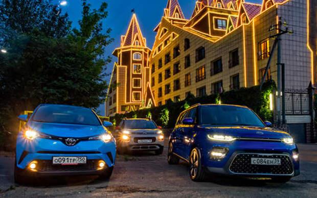 Большой тест стиляг: Toyota C-HR, Citroen C3 Aircross и новый Kia Soul