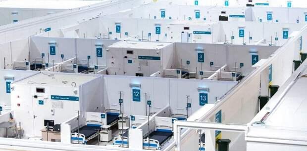 Собянин заявил об открытии еще двух резервных ковид-госпиталей