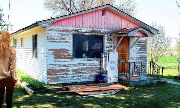 Соседи смеялись, когда девушке достался домик-развалина. Потом зашли в гости и прекратили – получился дом мечты
