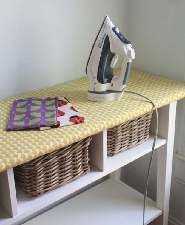 Идеи для хранения гладильной доски. Или 10 мест, где можно спрятать гладильную доску, фото № 47