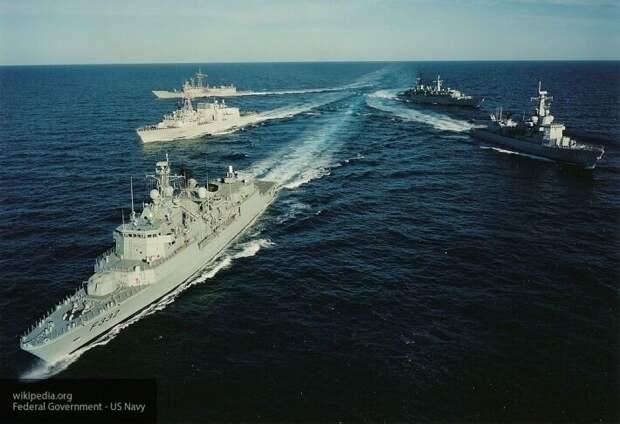 На провокационные учения США в Баренцевом море откликнулась только Британия - Bloomberg
